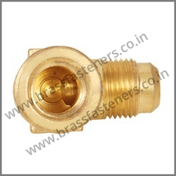 90 Degree Brass Flare Female Elbow
